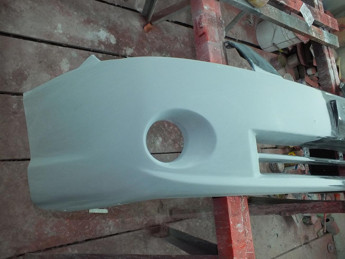 Ремонт бампера своими руками: пайка, шпаклевка и покраска 76
